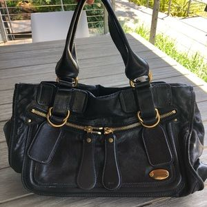 Authentic CHLOE Large Bay Bag - Calfskin
